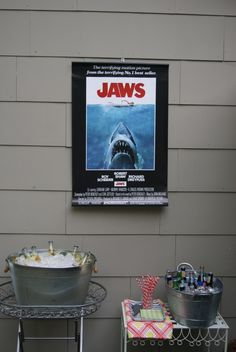 Jaws themed party!