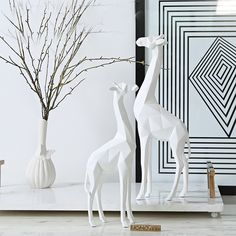 Find More Figurines & Miniatures Information about Nordic Deer Statue Marble Sculpture Figurine Miniture Home Decoration Accessories  Resin Crafts Chirsmas Decorative Gift,High Quality gift gifts,China gift decoration Suppliers, Cheap gift accessories from WARMTOUR Store on Aliexpress.com