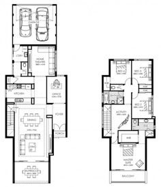 Planos de departamentos y negocio en el primer piso en for Planos de casas 5x25