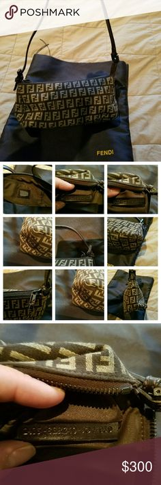 authentic Fendi purse Brown fendi purse excellent condition no flaws no smells.rips.. fendi  Accessories