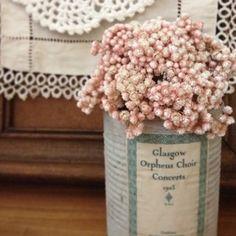 ドライフラワー dryflower リメイク缶 ライスフラワー|FLEURI blog