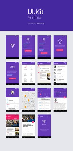 Event UI KIT for Android – Ui kit by Yerson Carhuallanqui