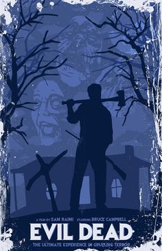 Hey, I found this really awesome Etsy listing at https://www.etsy.com/listing/164533547/evil-dead-11-x-17-inch-poster-bruce
