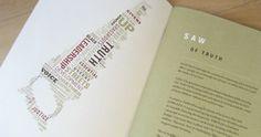 Typography, wordle, wordmark