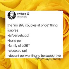 """25.1k Likes, 205 Comments - Rainbow Lgbt(qiapd+) Pride (@lgbt.saga.family) on Instagram: """"Dont be exclusive of lawful people at pride 