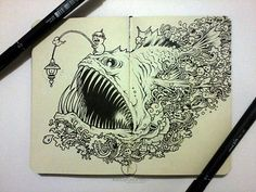 Moleskine Doodles by Kerby Rosanes