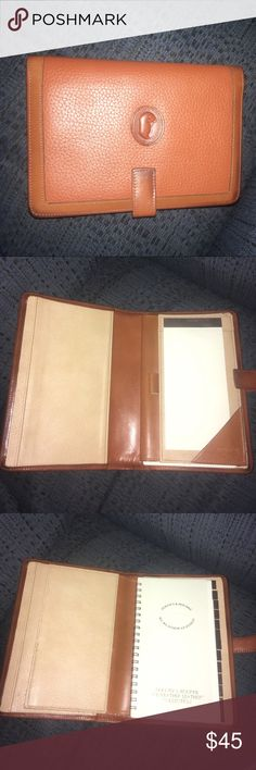 Dooney & Bourke address book along with notes. Dooney & Bourke address book. Very clean, can be updated with a full-in tablet. Auth. Dooney & Bourke. Dooney & Bourke Other