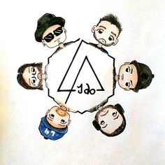 Linkin Park ❤ art by _kariliah_ (via Instagram)
