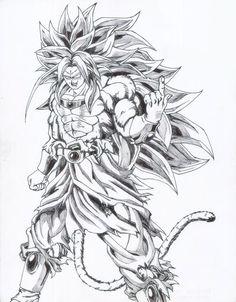 Dragon Ball AF (Anime Fan) Broly