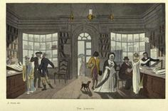 library in Scarborough around 1818