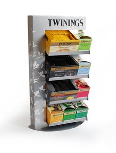 Silver stand by Twinings