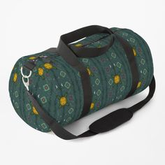 Green Bag, Shoulder Strap, Witch, Smile, Printed, Best Deals, Awesome, Floral, Stuff To Buy
