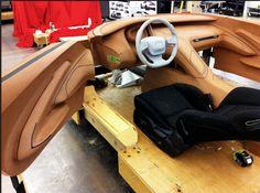 2013   Kia GT4 Stinger (KCD 10)   Design Development: Interior Clay Model