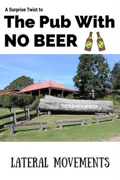 We arrived at The Pub With No Beer only to find that it was missing something else! #NSW #Beer #Australia #RoadTrip