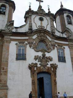 Nossa Senhora do Carmo chruch Ouro Preto Minas Gerais Brazil Baroque Rococo