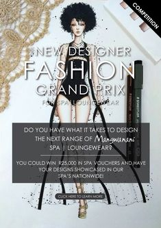 Do you have a dream to become a well-known fashion designer, but first you need a break to get your name out? Mangwanani might be looking for you. The Mangwanani Young Designer competition is geared to give young talent a chance to shine. Don't delay, enter now and make those dreams come true. Spa Lounge, How To Become, How To Get, Young Designers, What It Takes, Showcase Design, Your Design, You Got This