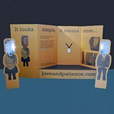 Corrugated Cardboard Exhibition Stand