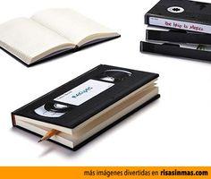 Libro cinta de vídeo.