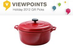 This Tramontina Enameled Cast Iron 6.5-Quart Dutch Oven was chosen by The Viewpoints blogger Amy from FreakyPerfect.com who says she'd love to try out some new recipes on this long-lasting cookware. The 97/100 rating on Viewpoints earned it a spot on our wish list, too!