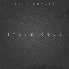 Demi Lovato: Stone cold (CD Single) - 2015. Demi Lovato Cover, Music Album Covers, Therapy, Cold, Queen, Songs, Healing, Song Books
