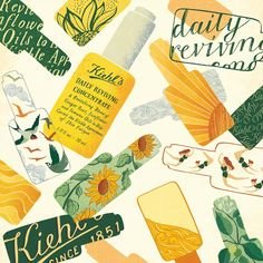 kiehl's ad but don't know who is the autor
