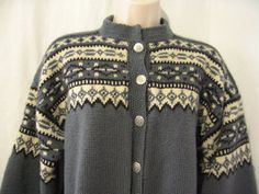Vintage Norwegian sweater