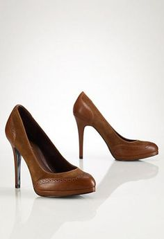 Oxford Leather Pumps
