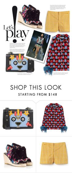 """""""let's play polyvore!"""" by gabrielleleroy ❤ liked on Polyvore featuring Prada, Ash and Lacoste"""