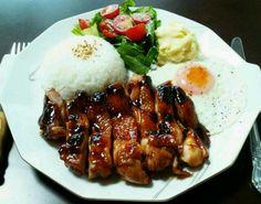 朝から食べ過ぎでしょうか?( *´艸) BBQチキンでワンプレート作ってみました✨ - 152件のもぐもぐ - バーベキューチキン One Plate Breakfast with BBQ Chicken by hayabusa921