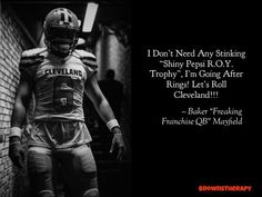 Cleveland Browns Football, Ou Football, Football Fever, Baker Mayfield Nfl, Ohio State University, Oklahoma Sooners, Let It Be, Brownies, Sports