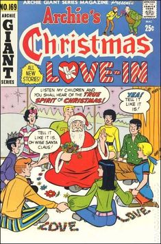 Archie's Christmas Love In, 1970 ~ Archie Giant Series