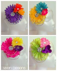 Spring Fling headbands by Vixen Designs. Perfect for EDC!