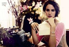 Lana Del Rey Vogue Australia 2012