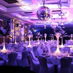 Tabledressers - Table centrepieces for weddings, banquets, receptions and party decoration