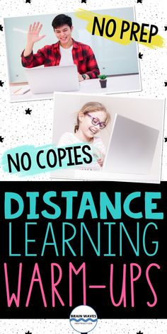 Wondering how to keep students engaged in online learning? Check out these warm-ups! These distance learning warm-ups develop critical skills while keeping students engaged while learning online. This resource includes 60 activities to provide fun brain breaks and challenges that students can complete while on platforms like Zoom or Google Meet. These zoom games for kids are so much fun. Your studnets won't even realize that they're learning. Oh, and there are no copies are prep needed! Games For Kids, Games To Play, Fun Brain, Brain Waves, Brain Breaks, Learning Games, Best Teacher, Classroom, Warm
