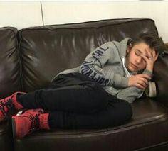 Leooo is sooooo cute whilst he s sleeping!!!!!