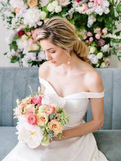 Wedding Shoot, Wedding Bride, Floral Wedding, Wedding Colors, Wedding Dresses, Wedding Hair, Spring Wedding Inspiration, Wedding Vendors, Weddings
