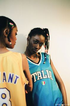 MTV Kriss Kross girls fashion shoot with photography by Jeff Hahn