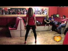 Tanja La Alemana , Sexy Bachata  Styling Workshop REAR VIEW (+playlist)