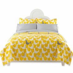 Happy Chic by Jonathan Adler Birds Complete Bedding Ensemble with Sheet Set - jcpenney My room! Twin Xl Comforter, Girl Bedding, Chic Bedding, Luxury Bedding, College Dorm Bedding, Bedding Sets Online, Dorm Life, Jonathan Adler, Beautiful Bedrooms