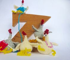 knitting chicky chicks at z