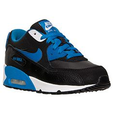 check out 26d17 f8f25 Boys  Little Kids  Nike Air Max 90 Casual Shoes. Black Running ...