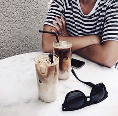 Coffee breaks in stripes