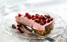 Lingonberry-Mousse Cake, Finnish Cake, October 2016