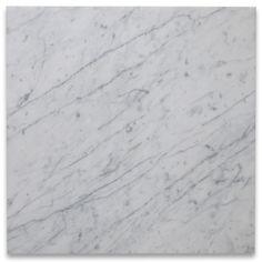 Carrara White 18x18 Tile Honed $7.09 sq ft minimum 99 sq ft