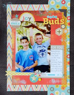 8.5x11 layout created by Suzanna Lee using MME's Boy Crazy Collection