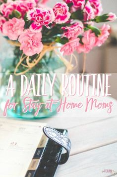 This routine for stay-at-home moms makes every mama's day go smoother while getting more quality time in with your kiddos (and sanity breaks for you!).