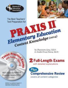 Teacher Certification Exam West-E//Praxis II Elementary Education 0014