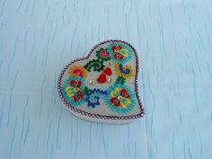 Portuguese heart box by CieloBluHandcrafts on Etsy