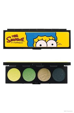 The Simpsons™ for M·A·C Collection via @thedieline